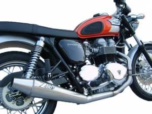 Zard - ZARD Low Mount 2-1 SS/SS Full System: Triumph Bonneville Carburetor - Image 1