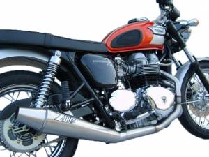 Zard - ZARD Low Mount 2-1 SS/SS Full System: Triumph Bonneville Injection