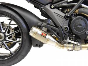 Competition Werkes - Competition Werkes Slip-on Exhaust: Diavel - Image 1