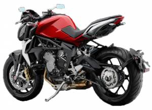 RIZOMA - RIZOMA Arm-Side License Plate Support: MV Agusta Brutale 675 / 800 - Image 1