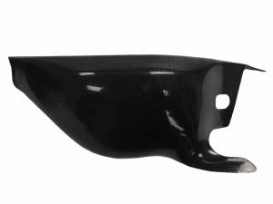 CM Composit - CM Composit Carbon Fiber Swing Arm Guard: 748-998 Race Style [Mag Swing Arm]
