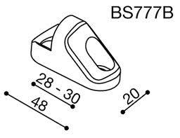RIZOMA - RIZOMA Mirror Adapter: Triumph 675 - Image 1