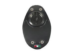 TWM - TWM Quick Action Aluminum Fuel Cap: Ducati Sport Classic-Paul Smart-GT1000, 749-999, Multistrada 620-1000 - Image 1