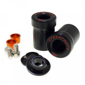 Speedymoto Parts - SPEEDYMOTO Replacement Frame Slider Puck Set[Through Body] - Image 1