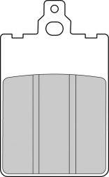 Ferodo - FERODO Platinum Brake Pad: Grimeca 2 Piston Caliper[Single Pack] - Image 1