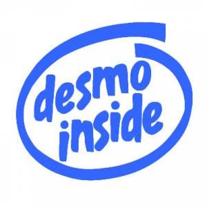 Stickers - Desmo Inside Printed Sticker: 2 inch - Image 1