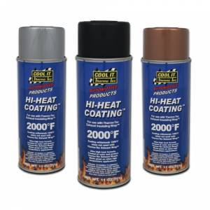 Thermo Tec - THERMO-TEC High Heat Wrap Coating: Black