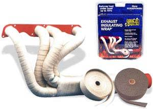 Thermo Tec - THERMO-TEC Exhaust Insulating Wrap: White 2 inch