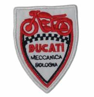 Stickers, Patches, & Toys - Patches - Patches - Ducati Meccanica Bologna Shield Patch