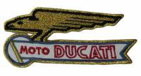 Stickers, Patches, & Toys - Patches - Patches - Ducati Gold Eagle Patch
