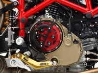 RIZOMA Half Clutch Cover ZDM024: Ducati