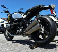 BST 7 Spoke Rear Wheel: BMW K1200/1300(R,S) - R1200 - HP2 - R nine T
