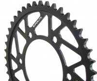Drive Train - Rear Sprockets - SUPERLITE - SUPERLITE RS7 525 Black Steel Rear Sprocket: Ducati M620-750-900-1000/SS/ST/SC/PS/GT/851/888