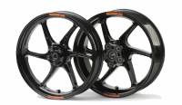 "OZ Wheels - OZ Cattiva Wheels - OZ Motorbike - OZ Motorbike Cattiva-R Forged Magnesium 16.5"" Wheel Set: Ducati 749/999: [One set below cost]"