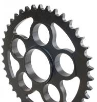 Drive Train - Rear Sprockets - SUPERLITE - SUPERLITE 525 Pitch Direct Replacement Steel Rear Sprocket: 848, SF848, HM796-1100, M796, MTS1000-1100, S4R, S4RS, 998 SBK