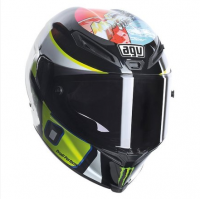 Helmets & Accessories - Helmets - AGV - AGV Corsa Valentino Rossi WISH  Limited Edition Helmet