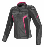 Women's Apparel - Women's Leather Jackets - DAINESE - DAINESE Racing D1 Lady Jacket