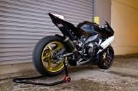 OZ Motorbike Piega Forged Aluminum Wheel Set: Aprilia RSV4 / Tuono V4