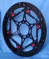 Brake - Rotors - Braketech - BrakeTech AXIS Iron Race Series: [W/ TC Triggers] 1098R, 848 EVO/ 1198/S/SP, Streetfighter S [Pair] 330mm