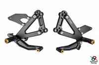 Hand & Foot Controls - Foot  Controls - Bonamici Racing - Bonamici Adjustable Billet Rearsets: Ducati Paul Smart, Sport Classic