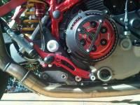 Bonamici Adjustable Billet Rearsets: Ducati Hypermotard [Street Version] 08-12, Multistrada 03-09
