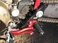 Bonamici Racing - Bonamici Adjustable Billet Rearsets: Ducati Hypermotard [Street Version] 08-12, Multistrada 03-09  - Image 2