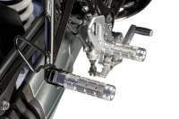 Hand & Foot Controls - Foot  Controls - Bonamici Racing - Bonamici Billet Rear Pasenger Foot Pegs: BMW R Nine T [Black]