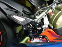 Ducabike Carbon Fiber Heel Guards: Panigale 1299/1199/899/959