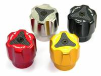 Ducabike - Ducabike Billet Aluminum/CF Rear Suspension Pivot Adjuster Knob: Diavel, MTS 1200