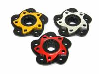 Drive Train - Sprocket Hub Covers - Ducabike - Ducabike Billet Sprocket Hub Cover: [5 Hole- Black Base + Color]