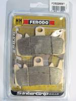 Ferodo - FERODO ST Front Sintered Brake Pads: Late Style Brembo Radial Cast Calipers [Single Pin], [Single Pack]