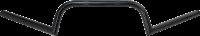 Motowheels - MW Clubman Handlebar: satin black - Image 1