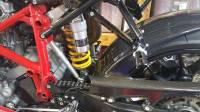 """RIZOMA """"B-Pro"""" Passenger Foot Peg Kit: Ducati 749/999"""