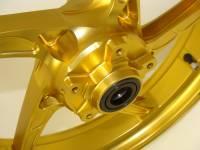 OZ Motorbike Piega Forged Aluminum Front Wheel: Suzuki Hayabusa '99-'07