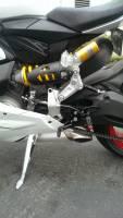 Bonamici Racing - Bonamici Adjustable Billet Rearsets: Ducati Panigale 899-959-1199-1299 - Image 9