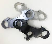 Motowheels - Billet Top Triple Clamp: Ducati 848/1098/1198 [OEM Offset] :Minor Imperfections, Made in Italy