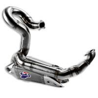 Exhaust - Full Systems - Termignoni - Termignoni Titanium/Steel Full Exhaust System:Ducati Panigale 1199/1199S [No Up-Map]