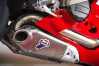 Termignoni Titanium/Steel Full Exhaust System:Ducati Panigale 1199/1199S [No Up-Map]