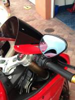 "RIZOMA Mirror - ""Veloce"" [It includes the correct bracket] Ducati Panigale 899/1199"