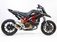 Competition Werkes - Competition Werkes GP Slip-On Exhaust  W/Fender Eliminator: Hypermotard 1100/1100 EVO