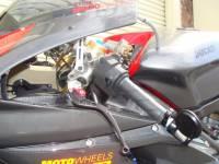 Oberon - OBERON Bar End Turn Signals w/ CRG Blindsight Mirrors: Ducati, MV Agusta - Image 2