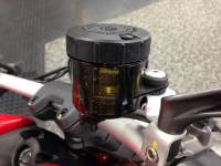 Brembo - BREMBO 45cc Reservoir 90 outlet [bolt down cap] Smoked - Image 3