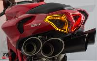Integrated Sequential Tail Light: Ducati 848, 1098, 1198