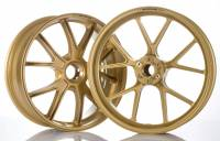 Wheels & Tires - Marchesini - Marchesini - MARCHESINI Forged Magnesium Wheelset: Ducati Panigale 1199-1299-V4-V2, SF V4 [Gold set in Stock]