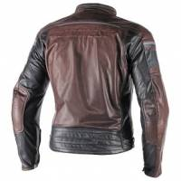 DAINESE Closeout  - DAINESE Blackjack Leather Jacket [Dark Brown/Black Euro 58] - Image 2
