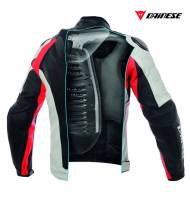 DAINESE - DAINESE D Air Racing Misano1000 Leather Motorcycle Jacket - Image 6