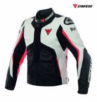 Men's Apparel - Men's Leather Jackets - DAINESE - DAINESE D Air Racing Misano1000 Leather Motorcycle Jacket