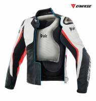 DAINESE D Air Racing Misano1000 Leather Motorcycle Jacket