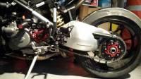 Ducabike Billet Sprocket Hub Cover: [5 Hole- Black Base + Color]