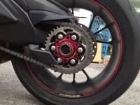 Ducabike - Ducabike Billet Sprocket Hub Cover: [6 Hole- Black Base + Color] - Image 3